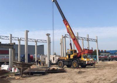 Kompresorinės pastato statyba, Telšiai